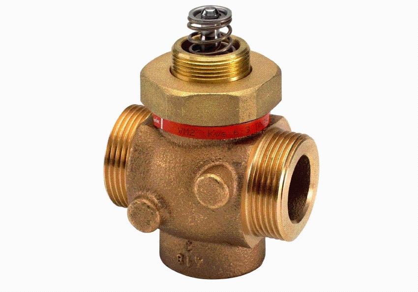 Клапан проходной седельный с электроприводом Sauter